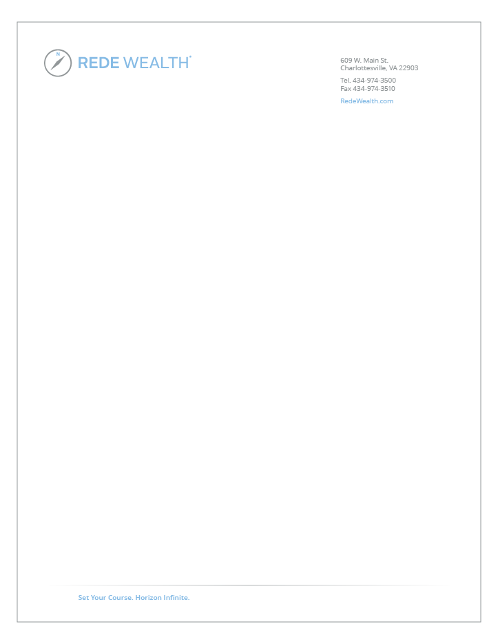 Rede Wealth Letterhead
