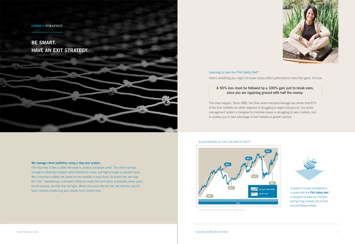 Brochure for Financial Services Advisory