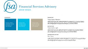 Rebranding springboard for Financial Services Advisory