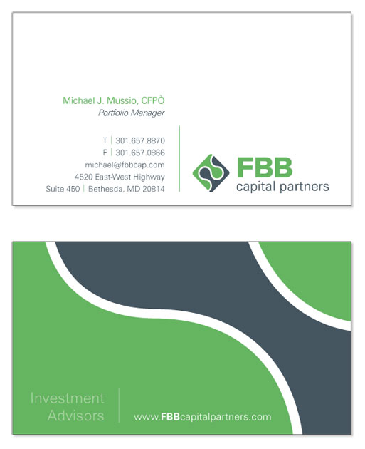 Business Card for FBB Capital Partners