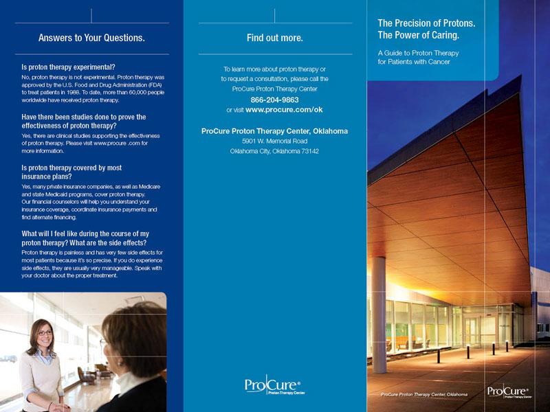 Brochure for ProCure Proton Therapy Center