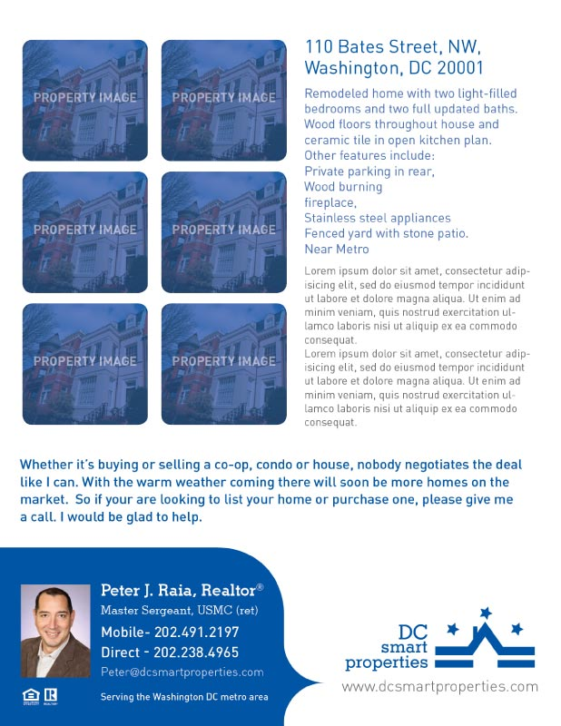 Flyer for DC Smart Properties