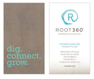 Business card for Root360