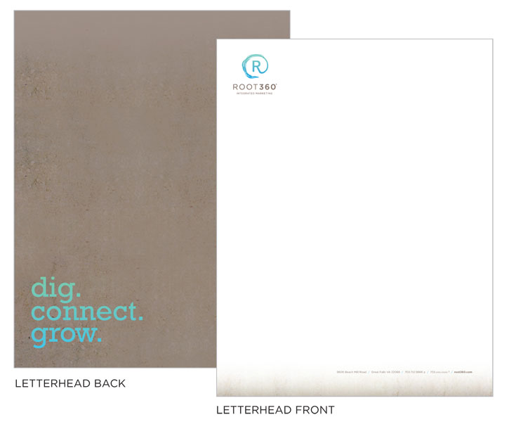 Letterhead for Root360