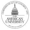 American University logo