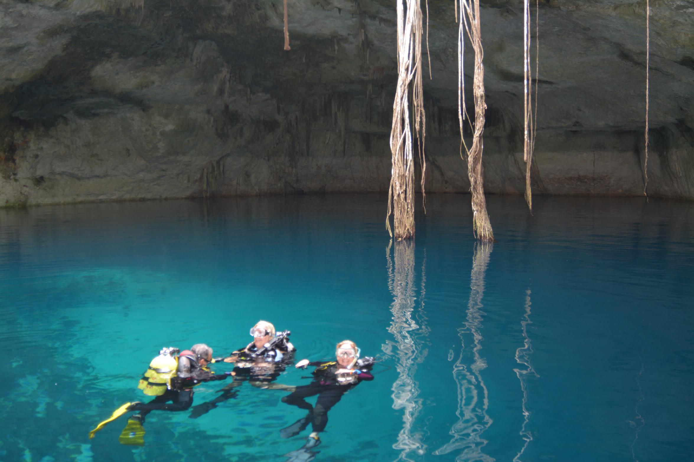 Scuba Diving in Mexico