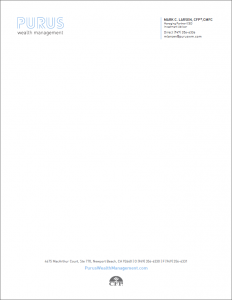 Purus Wealth Management Letterhead