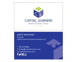 Capital Learners Business Card