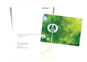 2012 Peace Holiday Card