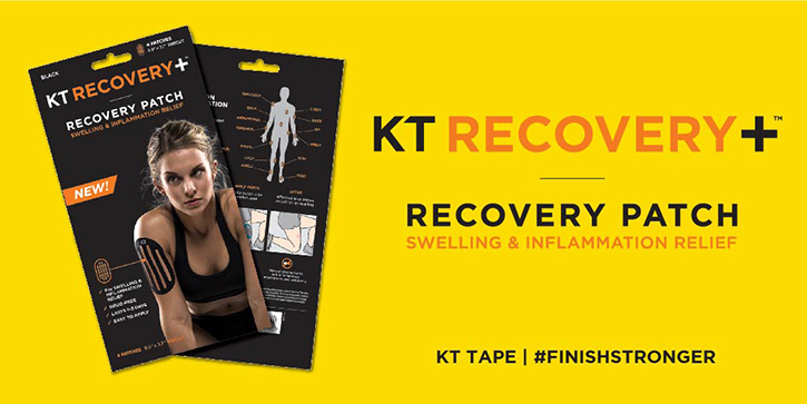 Social Media Post for KT Tape Recovery Product