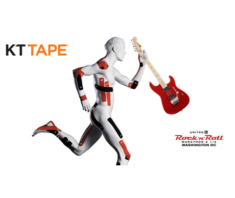 Social Media Campaign for KT Tape for 2017 Rock n Roll Marathon in Washington DC