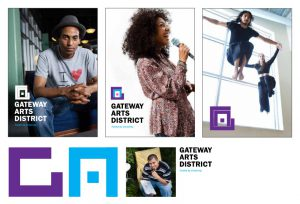Postcards for Gateway Arts District