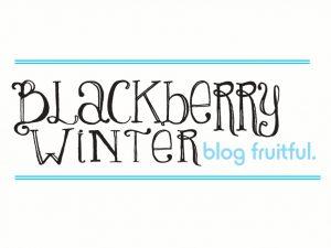 Blackberry Winter Blog Fruitful logo