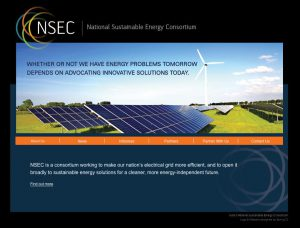 Website for NSEC