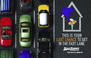 Advertisement for Road Runner