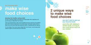 Brochure for Weight Watchers
