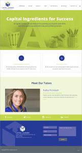 Capital Learners Website Home Page