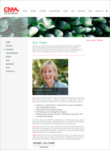 Care Management Associates Website Team Page