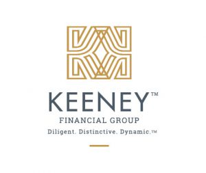 Rebrand and redesign of logo for Keeney Financial Group