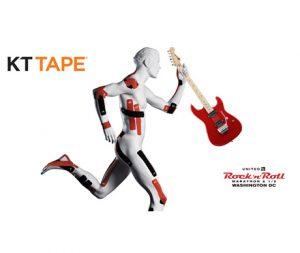 Social Media Campaign for KT Tape for 2017 Rock n Roll Marathon in Washington DC